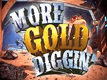 Игровой аппарат More Gold Diggin в зале клуба Вулкан