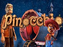 Игровой автомат Пиноккио в зале клуба Вулкан